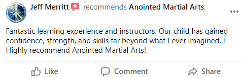 Pre2, Anointed Martial Arts